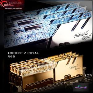 Gskill Trident Z Royal Gold DDR4 16GB (2x8GB) F4-3200C16D-16GTRG