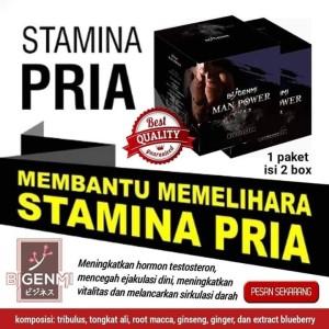 Bigenmi Man Power/Stamina Pria/Maca/Tribulus/Tongkat Ali
