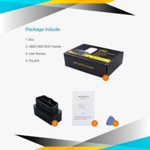 GPS Tracker Mobil OBD 2G OB22 - Original Concox