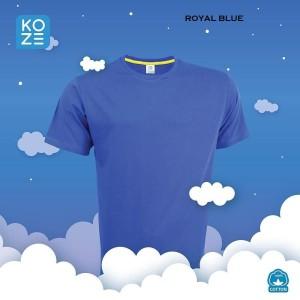 KAOS KOZE POLOS - ROYAL BLUE