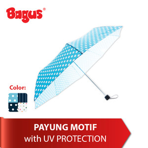 Bagus Umbrella Motif - With UV Protection Tipe 605
