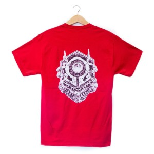 Craving Vapor Deep Red Crest T-Shirts by Craving Vapor