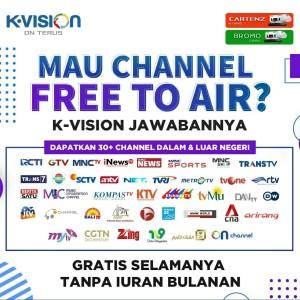 Jual Pasang Parabola Mini Kvision Kota Depok Visionteknik Tokopedia