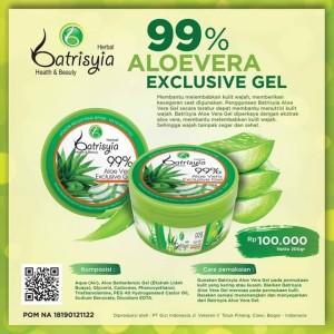 Batrisyia 99% Aloevera Exclusive Gel/Aloevera Gel/Aloe Vera Gel