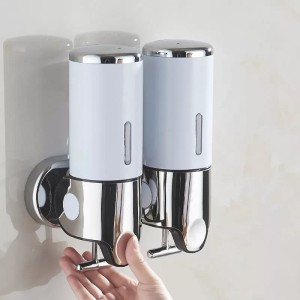 Soap dispenser double/Tempat shampo sabun cuci tangan cair 1000ml