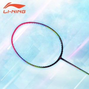 Li-Ning Badminton Raket WindstormS 72 Purple-Pink