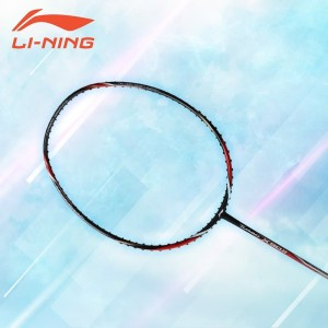 Li-Ning Badminton Racket Turbo X90 II Black/Grey - FREE Bag, Grip