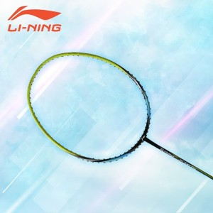 Li-Ning Badminton Racket Turbo X 70 G4 Black/Lime FREE Bag + String