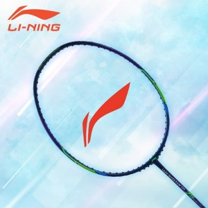 Li-Ning Badminton Raket WindstormS 75 Navy/Green