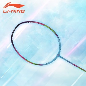 Li-Ning Badminton Racket WindstormS 72 Blue-Purple