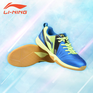 Li-Ning RAID III Badminton Sport Shoes-Blue/Lime