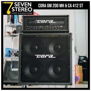 Cora GM200MH - Cora CA412ST Paket Ampli Gitar