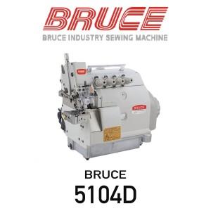 Mesin Overlock Bruce 5104D