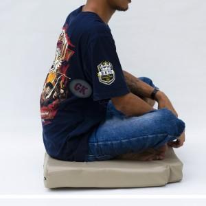 Alas duduk / bantal meditasi/ bantal doa/ bantal lesehan (busa kuning)