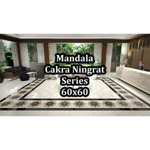 Niro Granite Swatantra Mandala Cakra Ningrat Series D00 60x60 Kw 1