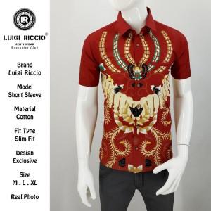 Kemeja Batik New Lengan Pendek LUIGI RICCIO Agustus 2019 - ,