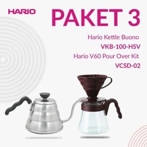 Promo 2 in 1 [Pour Over Kit VCSD-02-CBR+Kettle Buono VKB 100HSV]