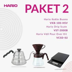 Hario V60 Promo 3 in 1 VST2000B + VKB-100HSV + VCSD-02-cbr