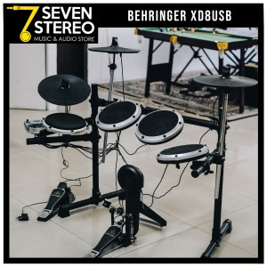 BEHRINGER ELECTRONIC DRUM SET // XD8USB XD 8 USB (SECOND CONDITION)