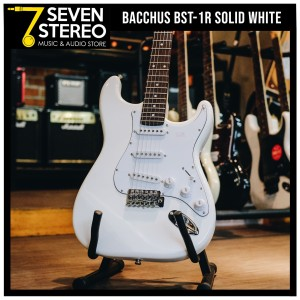 Bacchus BST-1R Solid White Universe Series Stratocaster Model