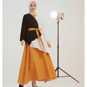 FASHION DRESS MUSLIM ANGGREK DRESS