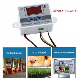 Temperatur Controller Thermostat Digital W3001 Input Output 220V AC