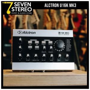 Alctron U16K MK III USB Audio Interface with Multi Effect / Soundcard
