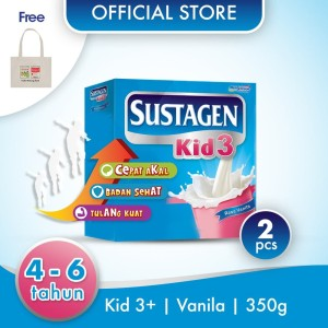 Sustagen Kid Susu Pertumbuhan Vanila 700g GRATIS Tote Bag