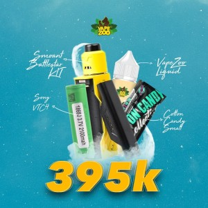 PAKET SIAP KEBUL Smoant Battlestar Nano Kit with Battlestar RDA