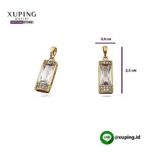 XUPING LIONTIN PERSEGI GOLD MATA KACA 0141190391