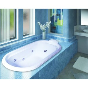 Bathtub Long Zelda (Paket Jacuzzi)
