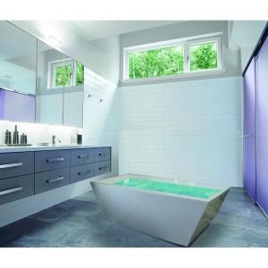 Bathtub Standing Ivone Free Avur+kran Mixer dan Shower+Tissue box
