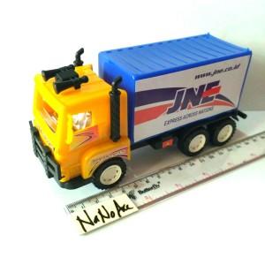 mainan truk box paket ekspedisi kurir mini