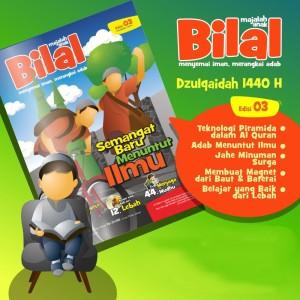 Buku Majalah Anak Muslim BILAL Edisi 03 - Bulan Dzulqaidah