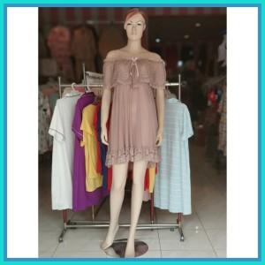 Lingerie Sabrina Baju Tidur Pakaian Sleepwear 71811125 Brown