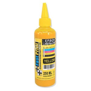 Tinta Sublim China Epson - Yellow - 250 ML
