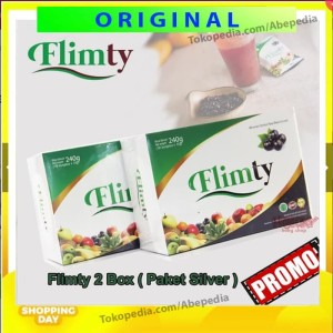 FLIMTY FIBER PAKET SILVER 2 BOX SLIMMING DETOX PENGURUS PELANGSING