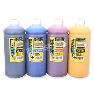 Tinta Textile DTG 1 Set - 4 Warna - 1000 ML