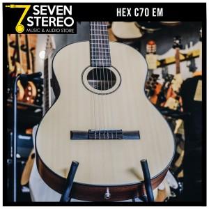 Hex C70 EM Classic Nylon Acoustic Electric Guitar