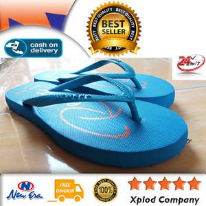 Sandal Jepit Wanita New Era Relax Size 37 Baby Blue Sendal Wanita
