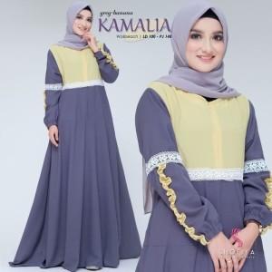 FASHION DRESS MUSLIM KAMALIA DRESS 2
