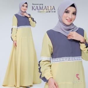 FASHION DRESS MUSLIM KAMALIA DRESS