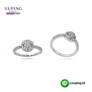 XUPING CINCIN BARIS BULAT SILVER ZIRCON 0122190635