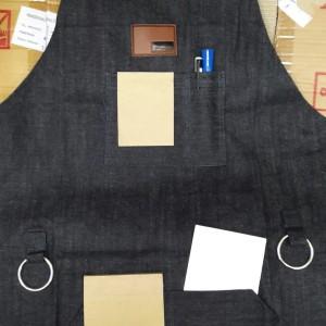 Apron/Celemek jeans/denim barista murah dan bagus
