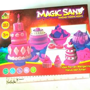 Magic sand ice cream pasir ajaib es krim cone 1