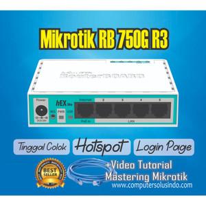 Paket Mikrotik RB750 GR3 Include Setting
