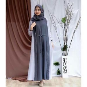 FASHION DRESS MUSLIM WIRASHA DRESS