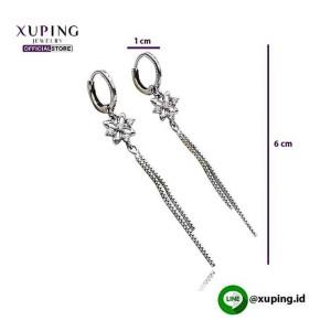 XUPING ANTING JURAI BUNGA SILVER 0172190124