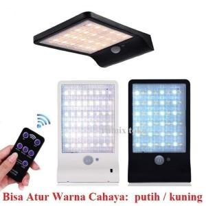 [ LAMPU SOLAR ] 48 LED Sensor Gerak with Remot