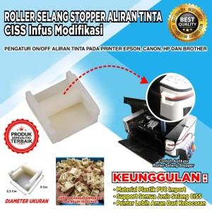 Roller Selang Plus Double Tape Import Printer Epson, Canon, Dan HP